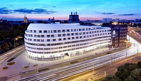 ovo wroclaw centre  milestone  urban architecture