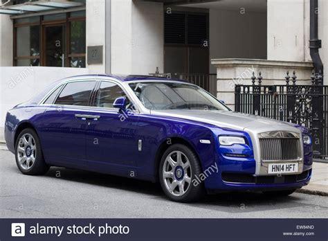 Rolls Royce Ghost Photo by Blue Silver Rolls Royce Ghost Stock Photo 84387225 Alamy