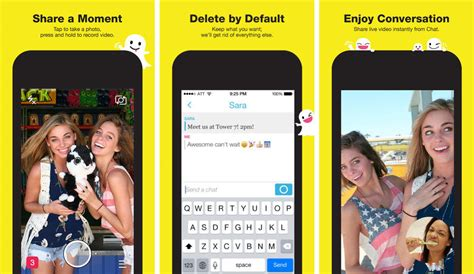 snapchat    chat text messaging