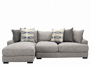 Leighton 2 pc sectional sofa fog raymour flanigan for 8 pc sectional sofa