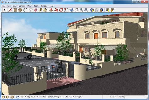 architecture design software sketchup