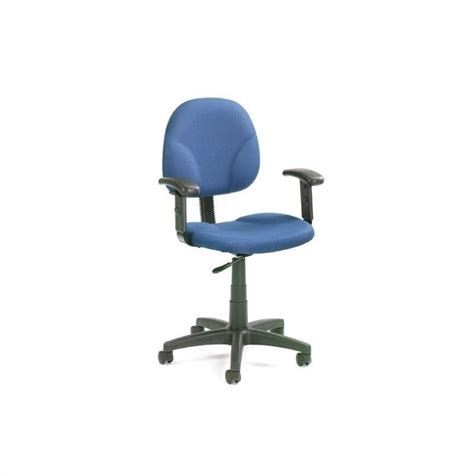 Acrylic Desk Chair With Arms by Mid Back Ergonomic Plastic Task Chair With Arms B9091