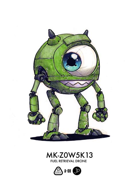 famous disney characters  robots