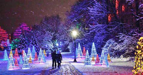 niagara falls winter festival  lights  officially