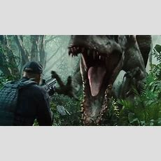 Watch Jurassic World's New Dinosaur Rampage In Super Bowl Teaser  The Verge