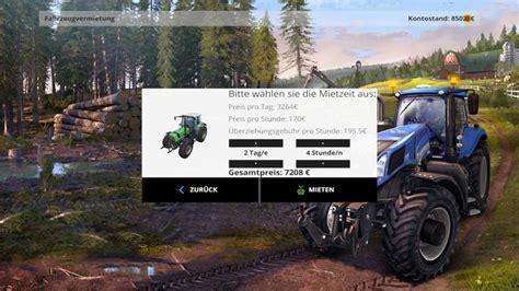 rental mod   hot fix  fs  farming simulator