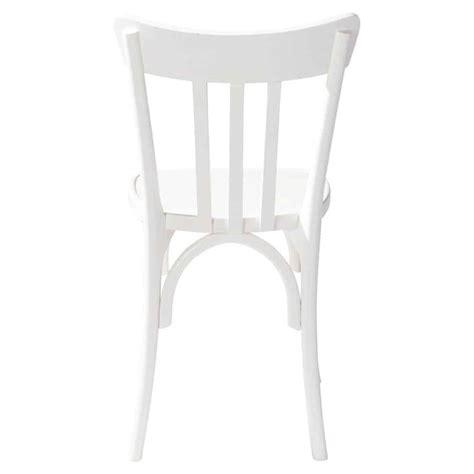 chaise en pin chaise en pin massif blanche cus maisons du monde