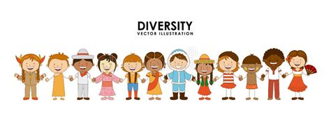 diversity of races stock vector illustration of indian 43953377