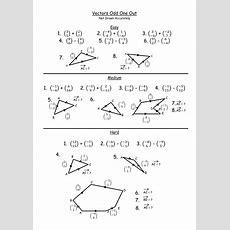 Vectors Ks4 By Teachbynumbers  Teaching Resources