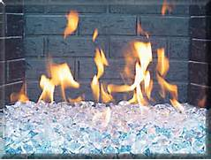 Fireplaces With Glass Rocks Gas Fireplace With Fireplace Glass Or Traditional Fireplace Fake Logs