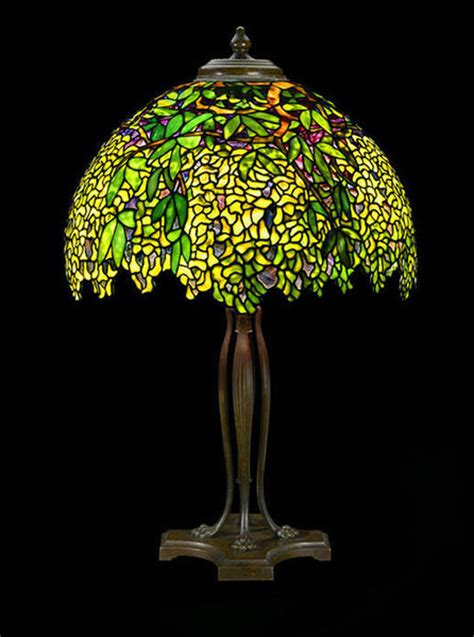 Table Lamp Bronze by Works By Louis Comfort Tiffany Victoriana Magazine