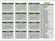 2017 Hindu Festivals Calendar Template Free Printable