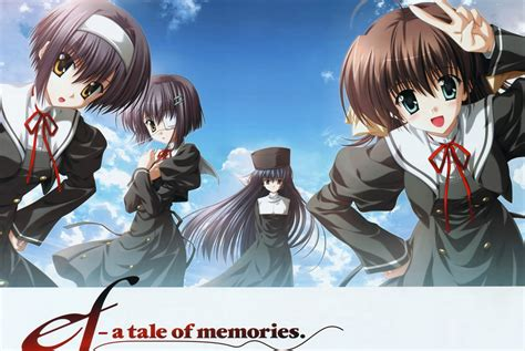 anime tale anime mini review ef a tale of memories a tale of