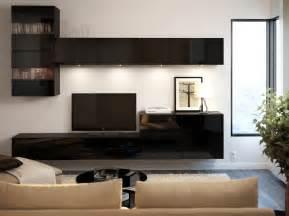 White Gloss Units Living Room