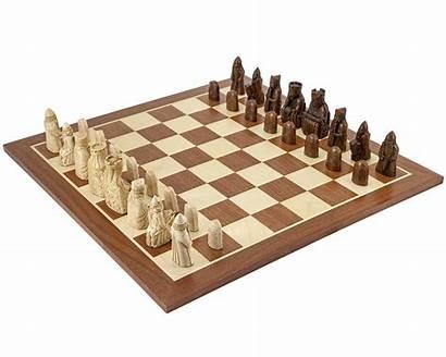 Chess Lewis Isle Mahogany Sets Pieces Regencychess