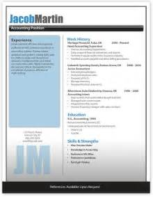 free modern resume templates word modern resume template information