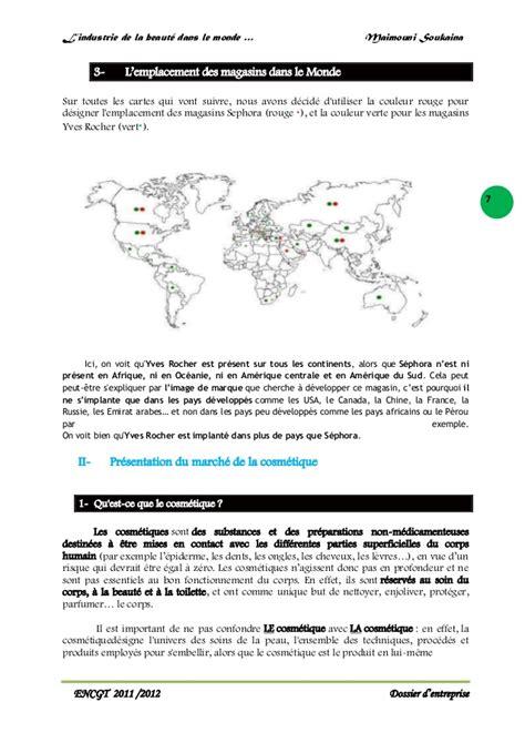 sephora siege social l 39 industrie de la beauté dans le monde