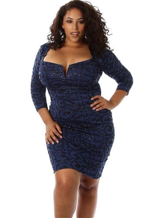 Enter The Club In Style In Plus Size