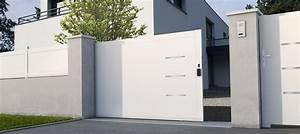 Modele De Portail Coulissant : portail coulissant mod le briac ~ Premium-room.com Idées de Décoration