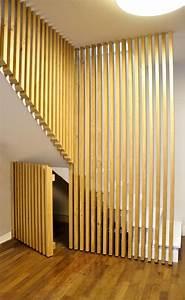 les 25 meilleures idees de la categorie sous les escaliers With peindre escalier bois en blanc 18 cuisine la deco de gege