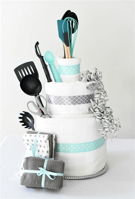 What To Give On Bridal Shower - towel cake a diy bridal shower gift squared