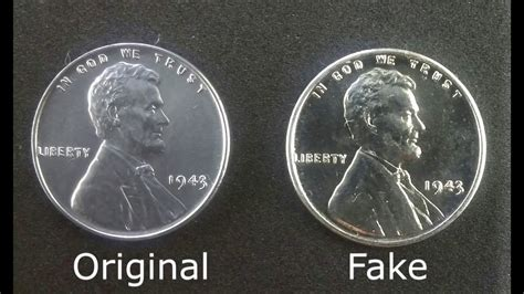 steel penny  fake original  fake youtube