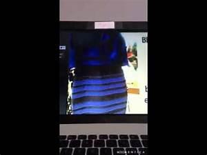 l39histoire de la robe bleu noire ou blanc doree youtube With robe noir collant noir ou chair