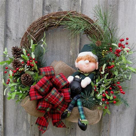 decoration how to decorate a christmas wreath with red