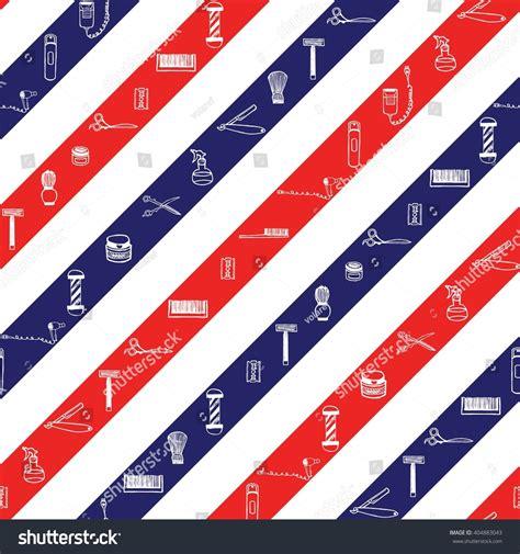 colors barber shop seamless pattern barbershop color stripes stock