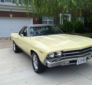 Really Nice 1969 El Camino In Butternut Yellow For Sale