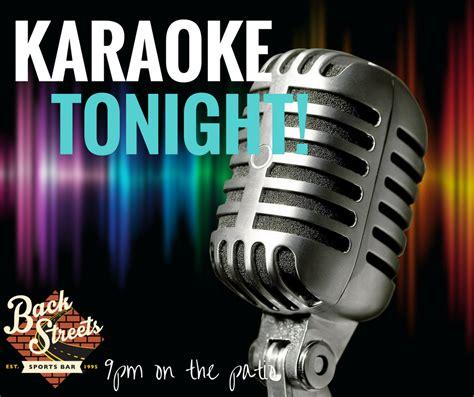 Karaoke At Backstreets