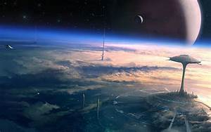 science, fiction, , digital, art, , space, , futuristic, , planet, , atmosphere, wallpapers, hd, , , , desktop, and