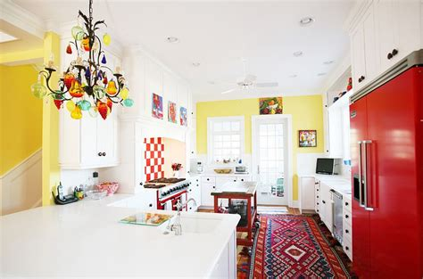 pretty kitchen colors 50 trendy eclectic kitchens that serve up personalized style 1648