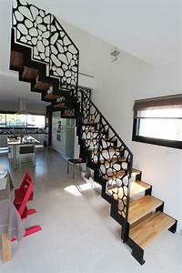 Rampe D Escalier Moderne : les 25 meilleures id es de la cat gorie escaliers modernes sur pinterest design d 39 escaliers ~ Melissatoandfro.com Idées de Décoration
