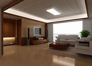 Simple Modern Living Room Design Interior Decoration Idea