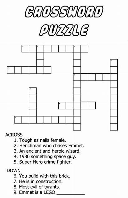 Crossword Puzzles Easy Printable Very Fun Children