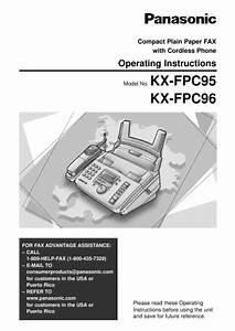 Panasonic Fax Machine Kx