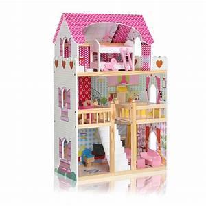 Barbiehaus Aus Holz : barbie puppenhaus ferienhaus oder traumvilla der berblick and puppenhauser fur ~ Orissabook.com Haus und Dekorationen