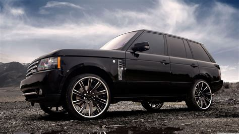 Black Range Rover Wallpaper black range rover 2015 hd wallpaper background images