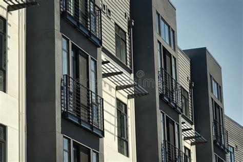 Multipurpose Modern Building Stock Image Image of