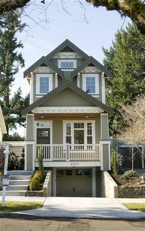 virtually vintage  homes gracefully combine   present craftsman house plans narrow