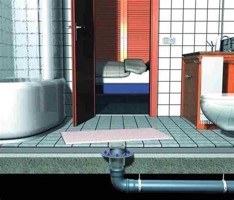unclog  floor drain