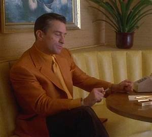 Casino – De Niro's Burnt Orange Jacket   BAMF Style