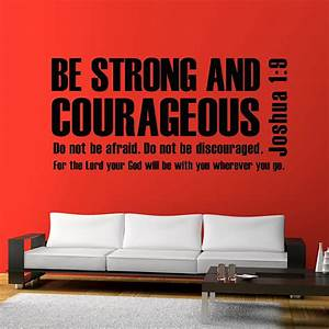 Mix wholesale order joshua be strong and courageous