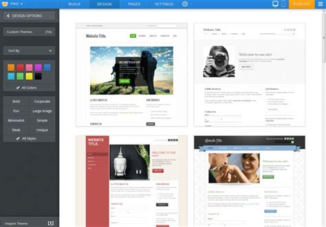 create website in weebly without template top 10 weebly alternatives