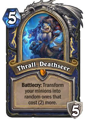 thrall deathseer hearthstone wiki