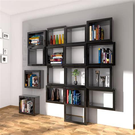 libreria parete libreria da parete design fra011 made in italy