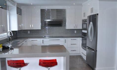 cuisine de comptoir réalisations cuisine salle de bain meuble sur mesure