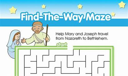Maze Way Activity