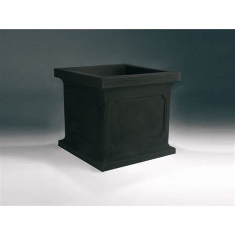 Black Square Planter Box by Square Black Planter Box Illbedead